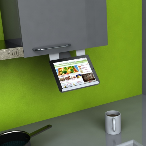 Kitchen-Holder für iPad und Android Tablet PC's